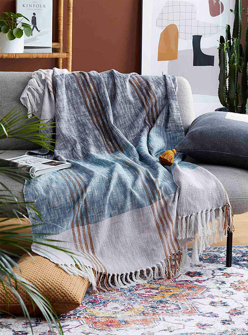 Simons Maison Assorted Redesigned check throw  130 x 170 cm
