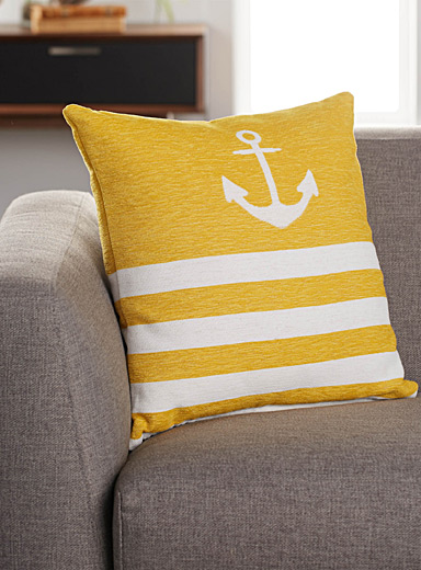 Sea anchor cushion  45 x 45 cm