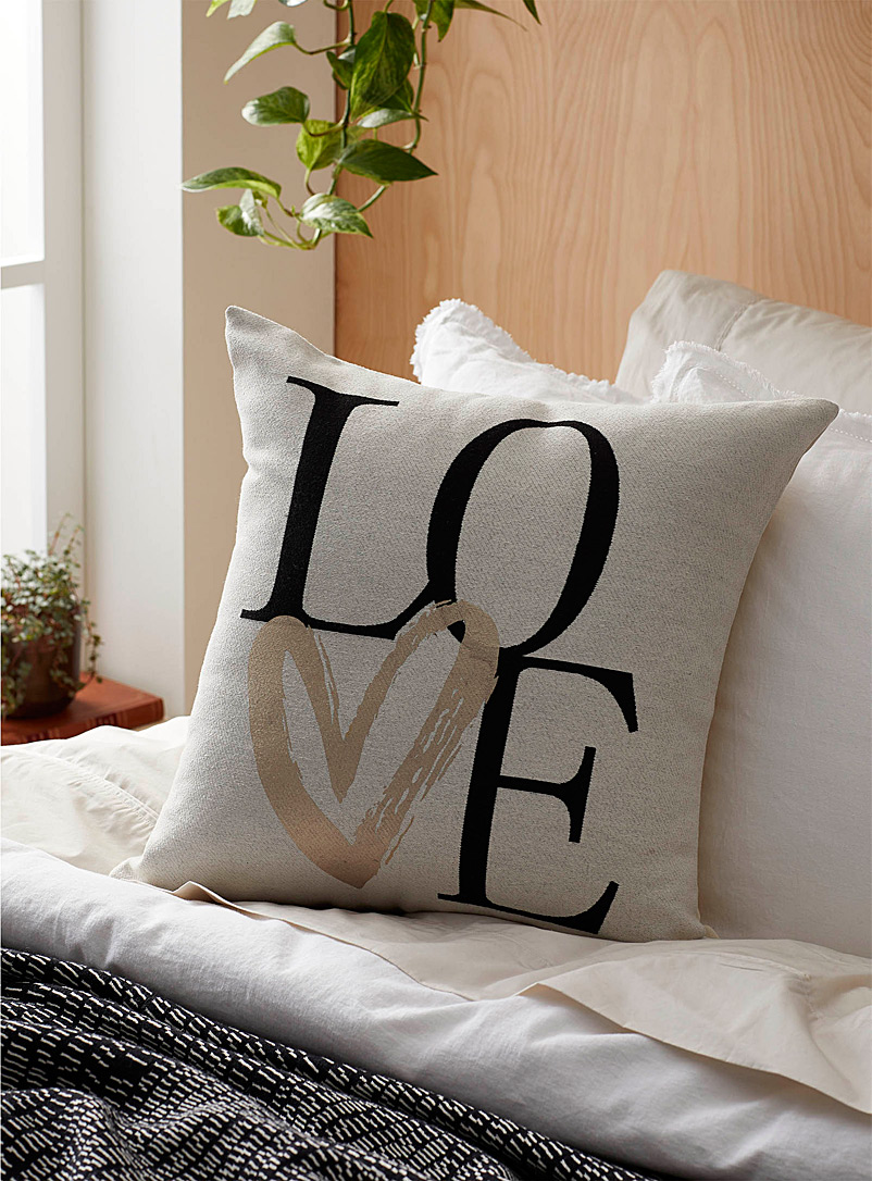 Dose of love cushion  45 x 45 cm