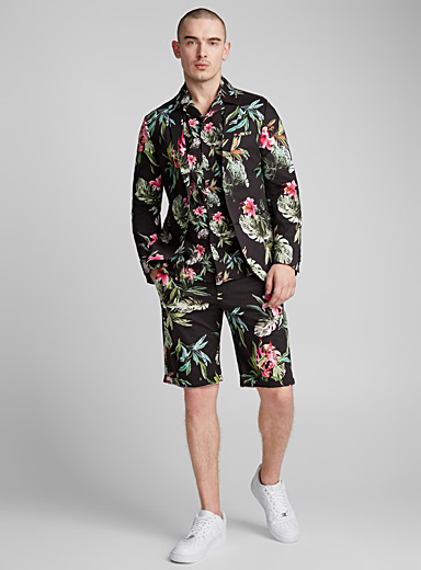 Tropical night suit  Slim fit