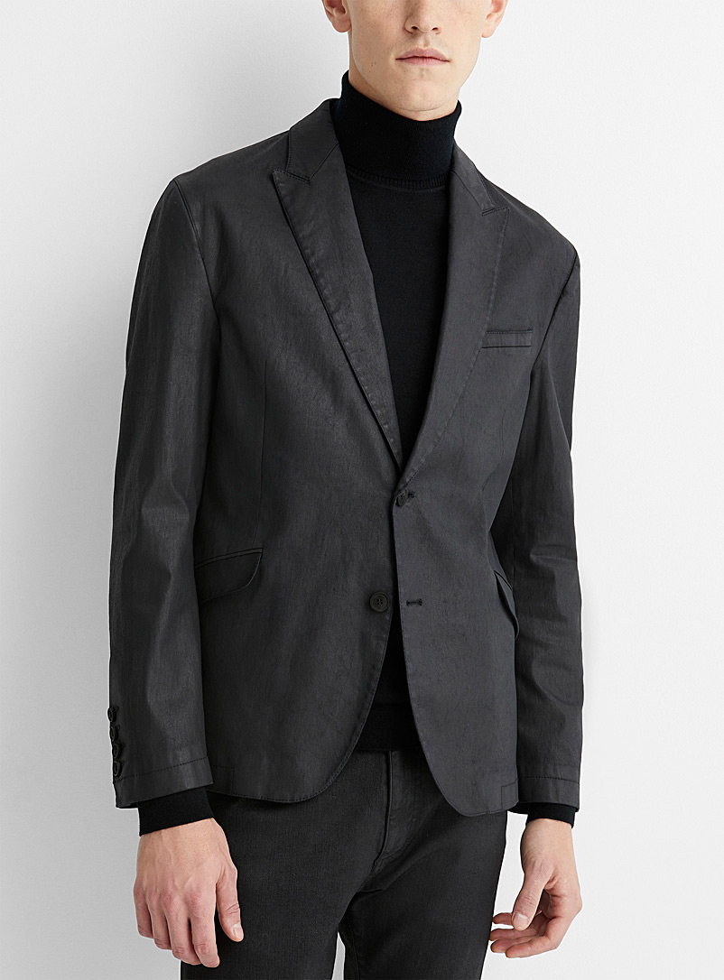 Malo coated cotton jacket  Slim fit