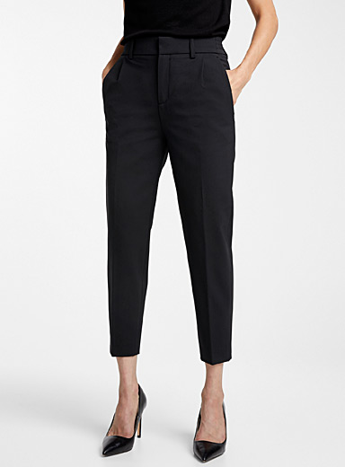 Find wool slim-fit pant
