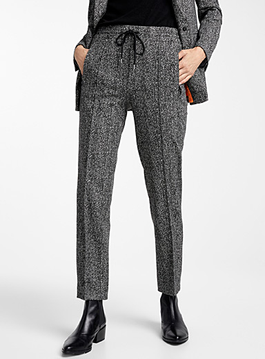 Le pantalon chiné masculin Blanked