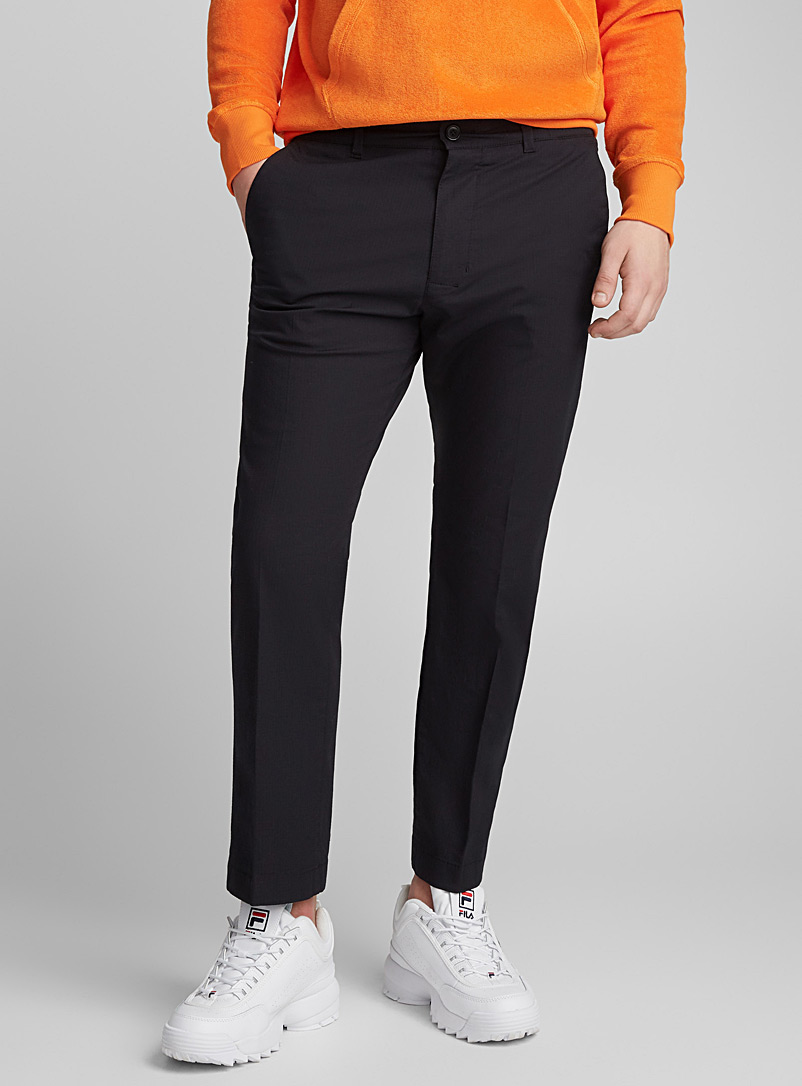 Stretch ripstop pant - New Proportions - Black
