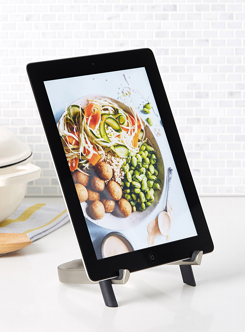 Modern tablet stand - Useful & Chic Extras - Black