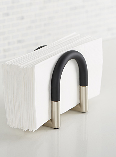 Adjustable napkin holder