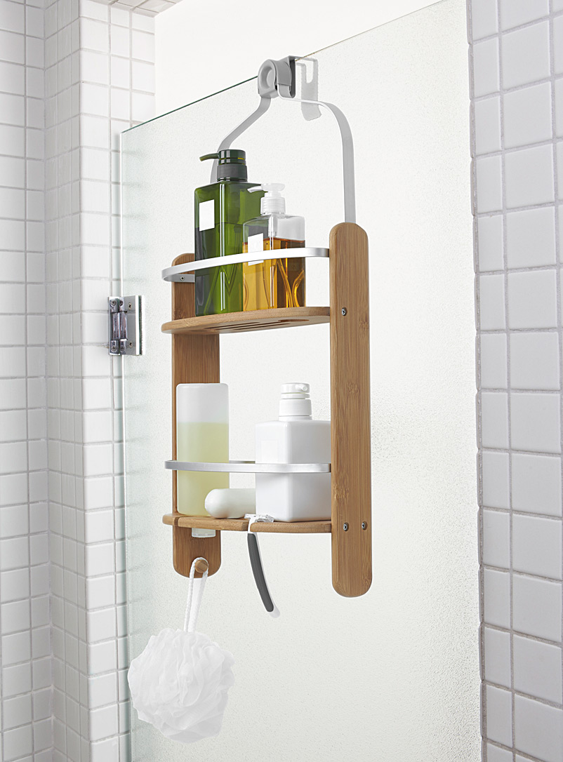 Umbra Sand Bamboo shower caddy