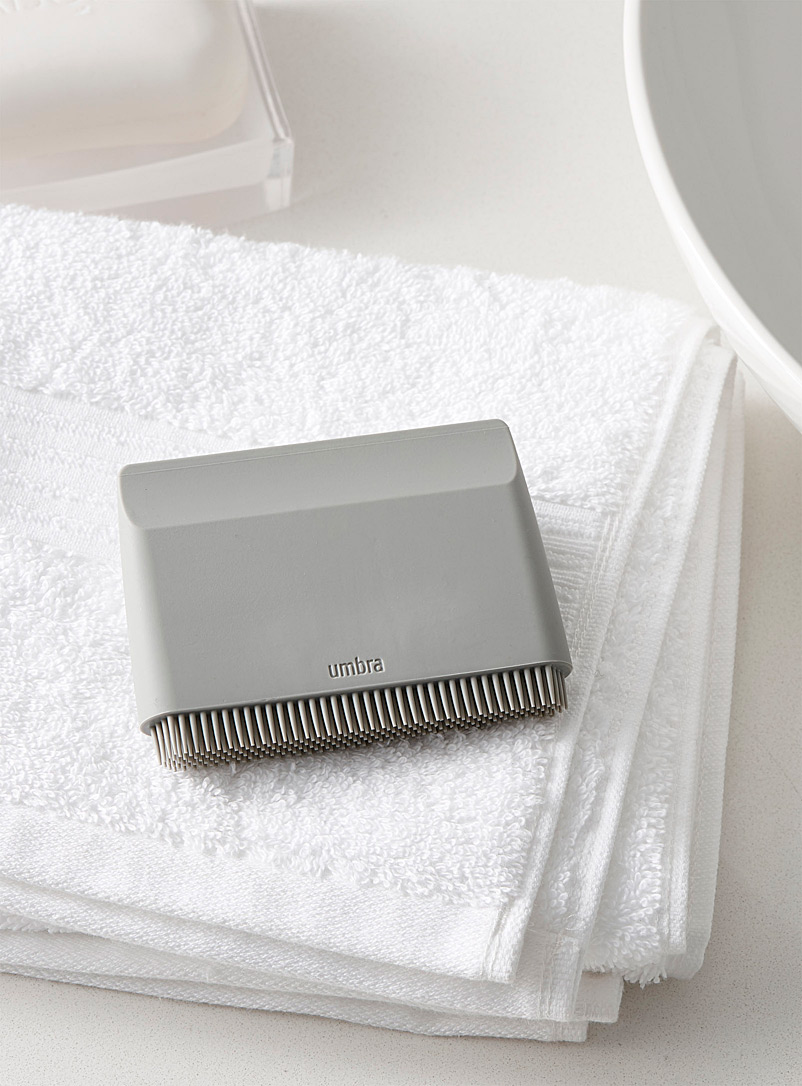 Umbra Light Grey Flex sink squeegee