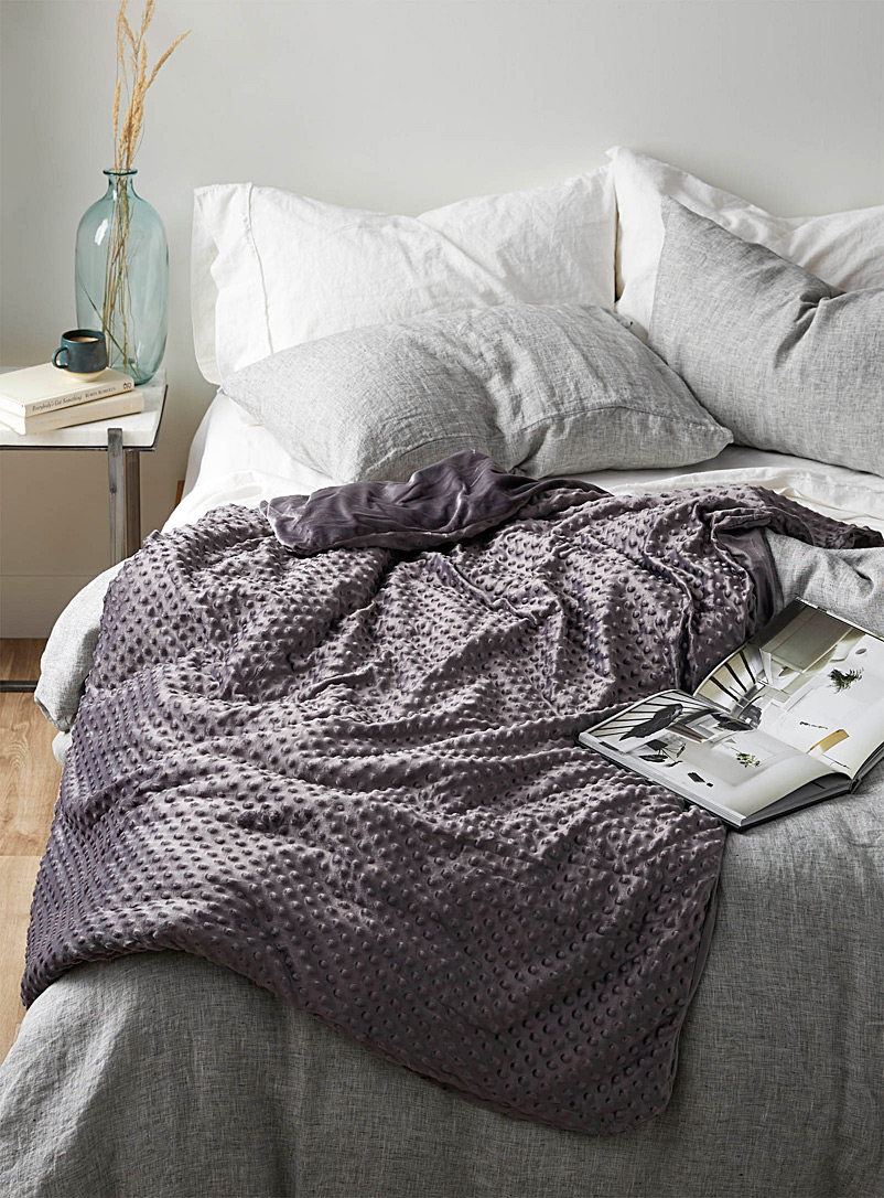 Weighted throw-blanket  122 x 183 cm - Blankets & Hot-Water Bottle