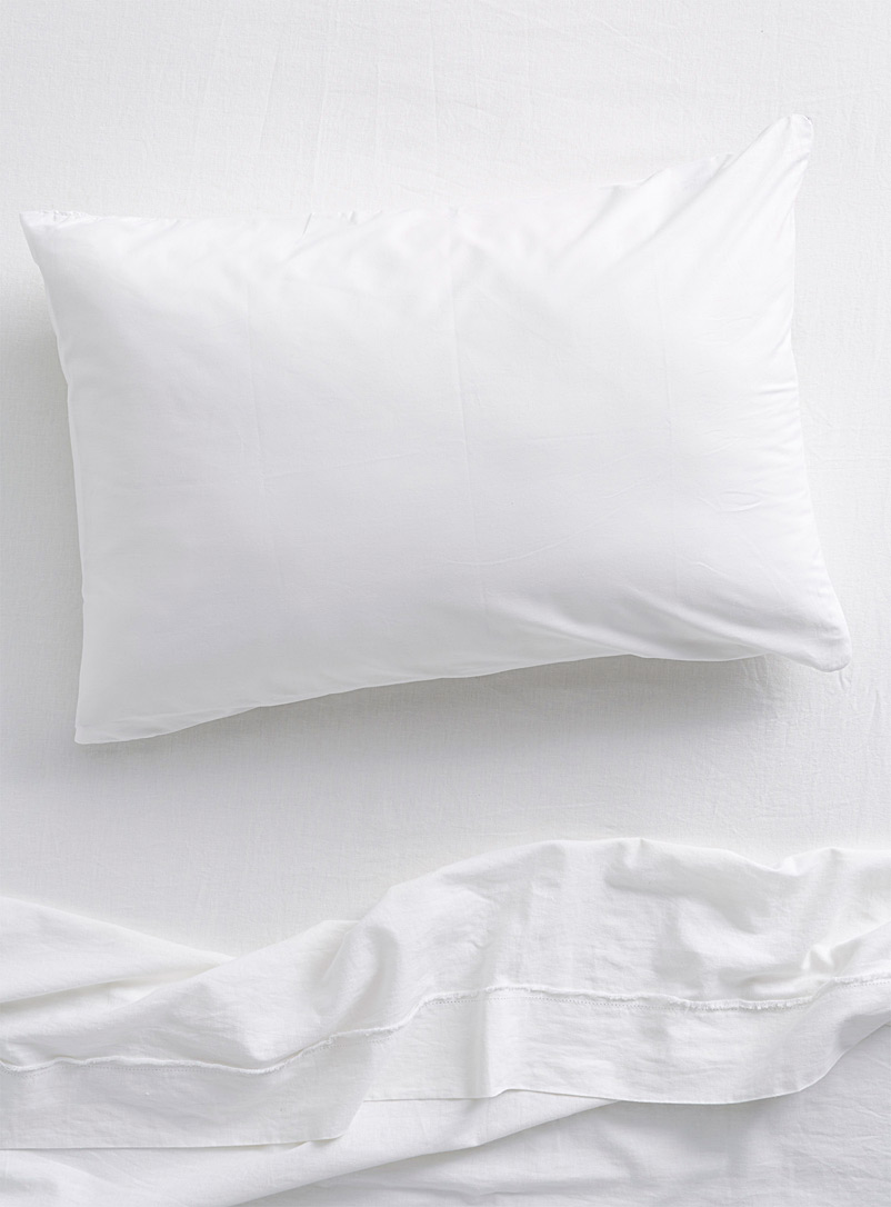 Harmonie pillow protector - Pillows & Pillow covers - White