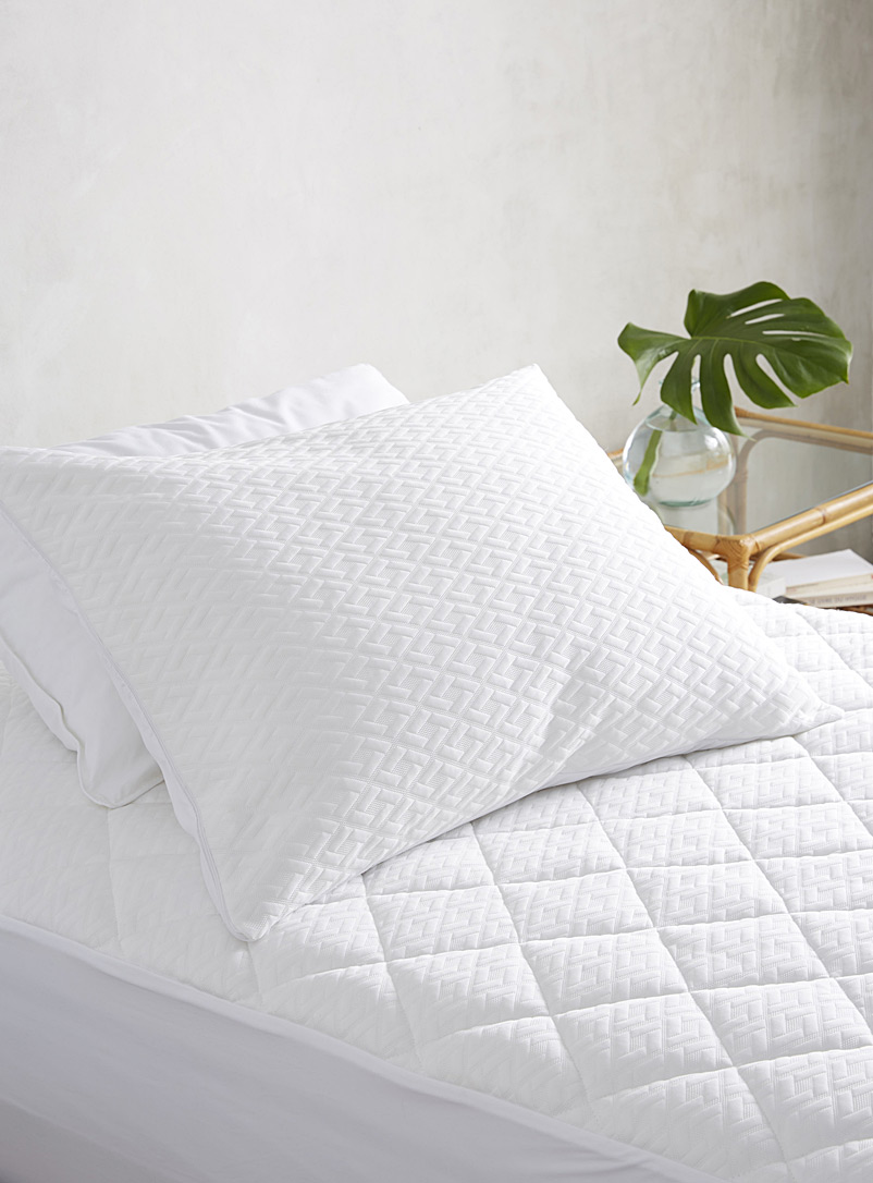 Simons Maison White Océanique pillow protector
