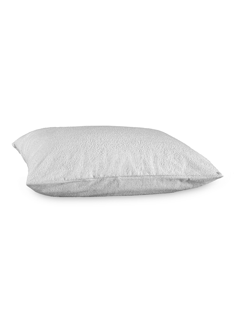 Simons Maison White Waterproof terry pillow protector