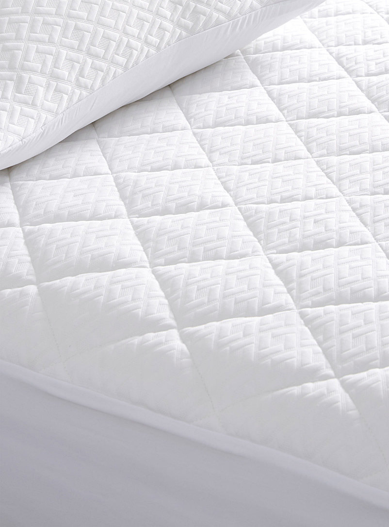 Simons Maison White Océanique mattress protector